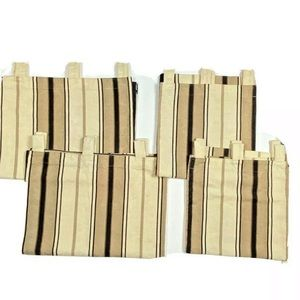 6 Waverly Newberry Stripe Custom Valances Curtains